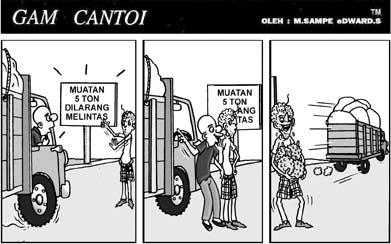 karikatur gam cantoi from harian serambi indonesia – series 3