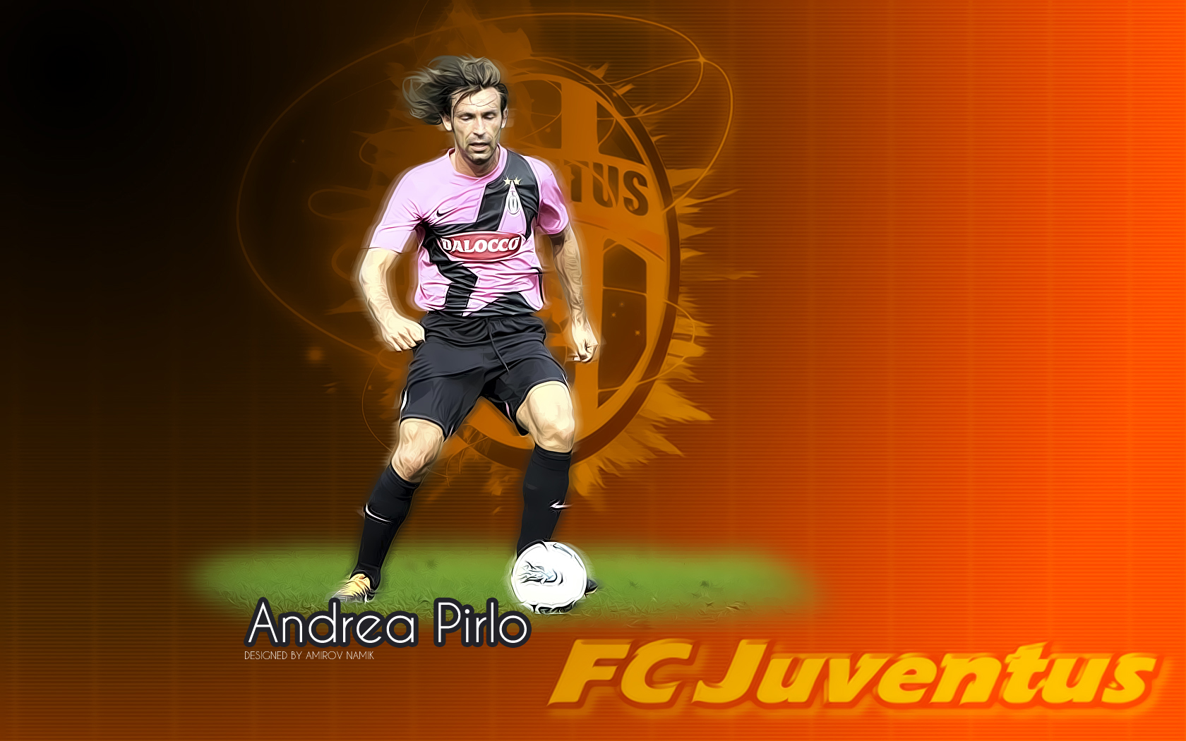 Wallpaper Andre Pirlo Juventus Mein Symbian