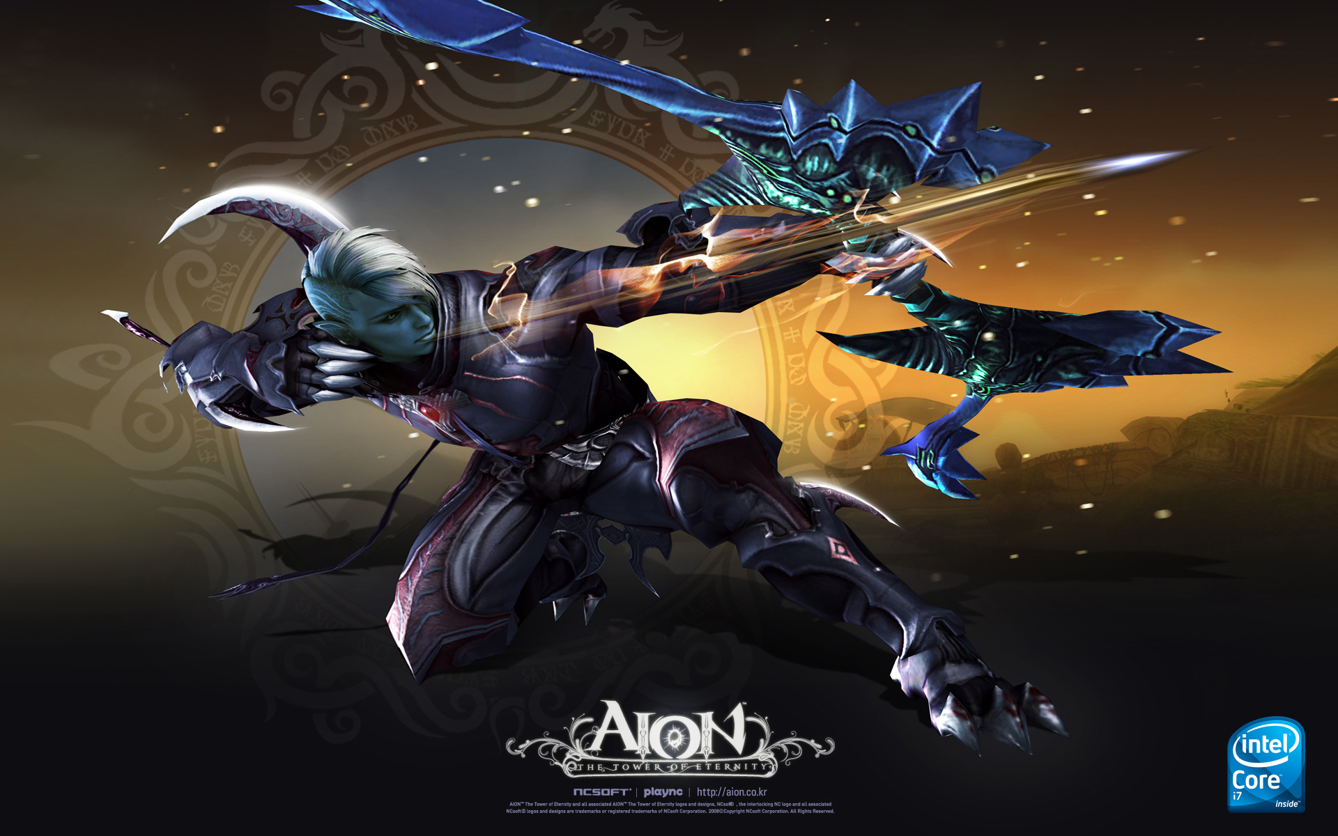 kumpulan wallpaper intel aion