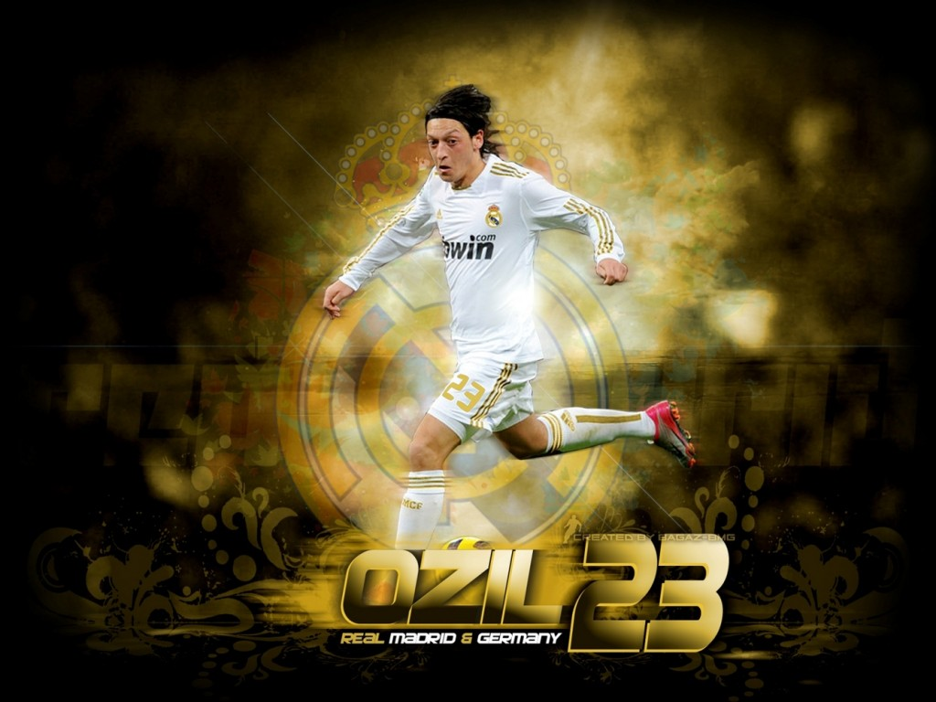 Wallpaper Ozil Real Madrid Version