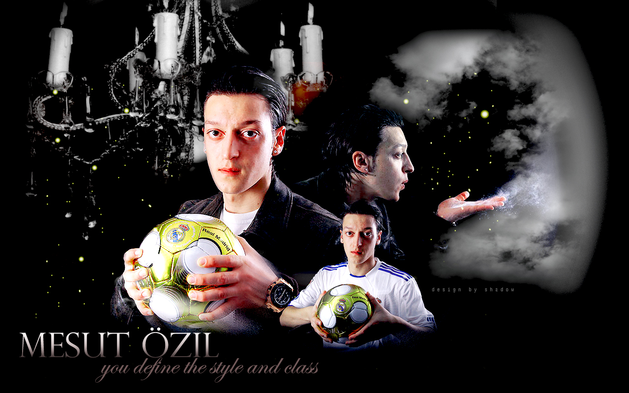 Wallpaper Ozil By Shad Design